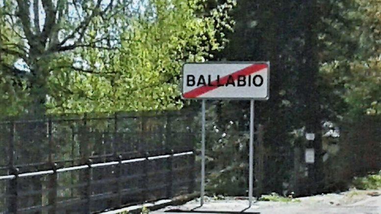 CARTELLO FINE BALLABIO VIA VALGRANDA