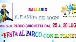 Logo Paineta parco 2017