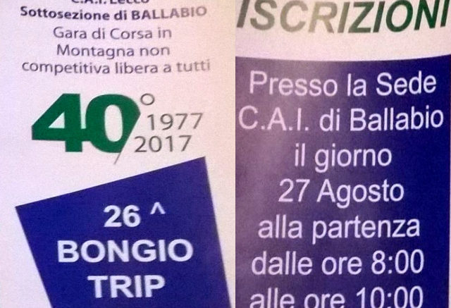 40 Bongio Trip
