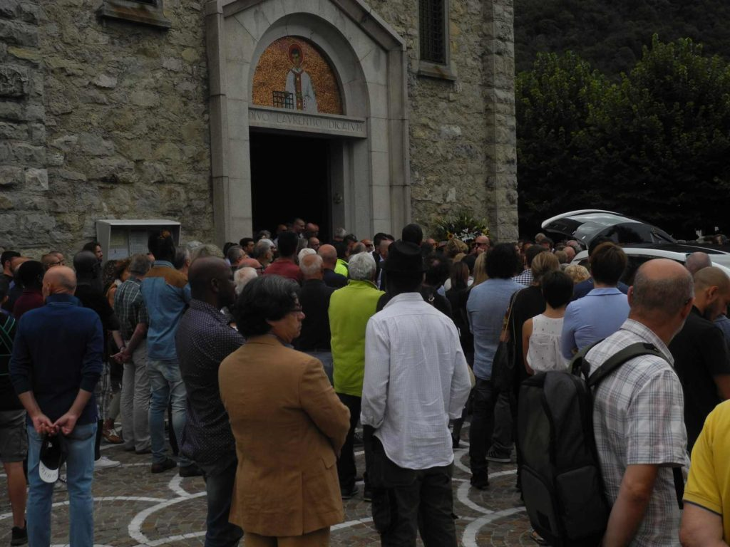 Funerali Pino Pedrazzoli