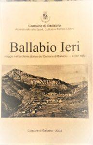 BALLABIO IERI libro