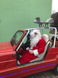 "Il ""noto ""Babbo Natale"" ballabiese"