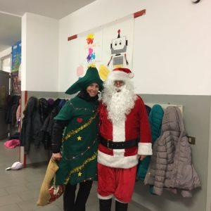 Babbo Natale alla primaria Fantasia
