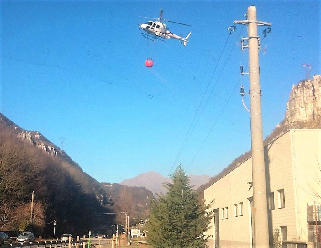 incendio-elicottero