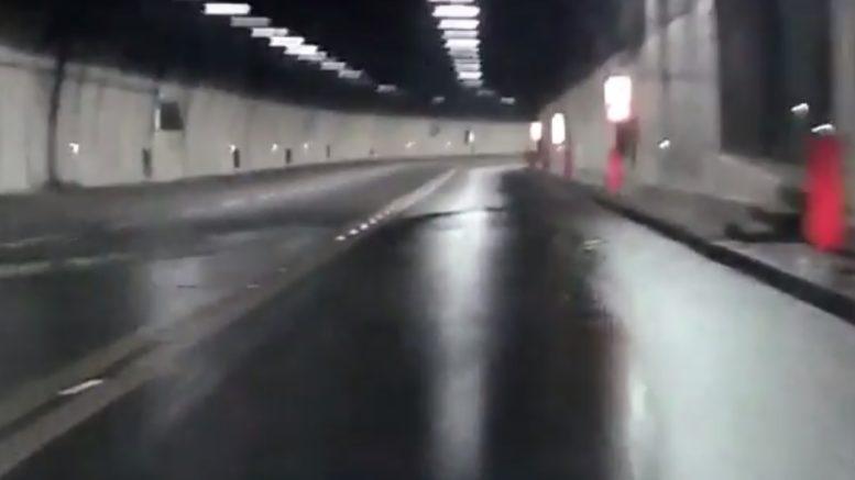 GALLERIA INONDATA VIDEO