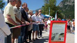 bussola inaugura festa sport e volantino ciclabile
