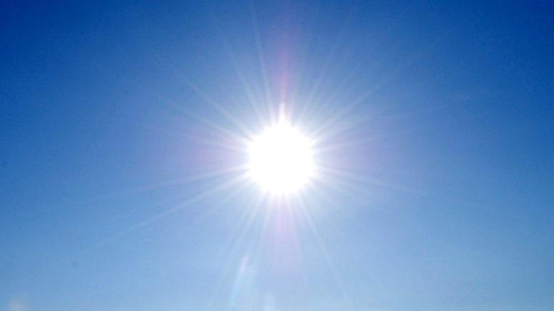 sole caldo meteo