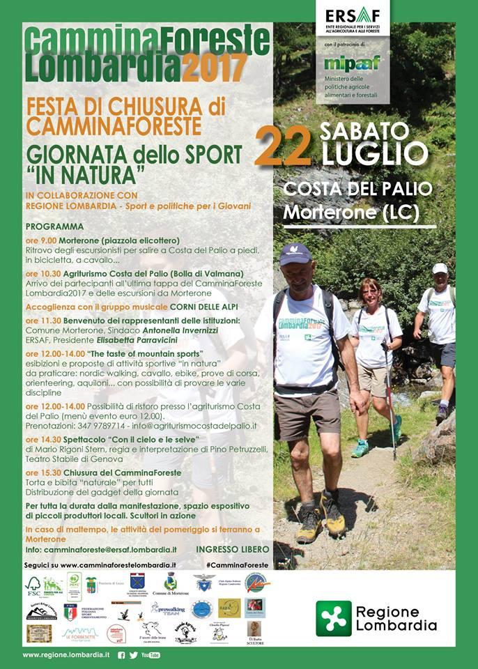 Cammina Foreste Lombardia 2017 Morterone