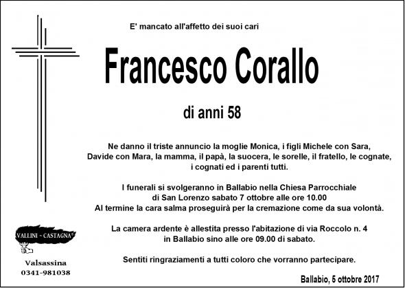 NECROLOGIO FRANCESCO CORALLO - Copia