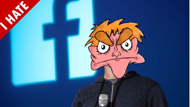 facebook odio hater