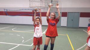 Corti ASC Ballabio e Elisa Vercurago T Ognissanti Volley