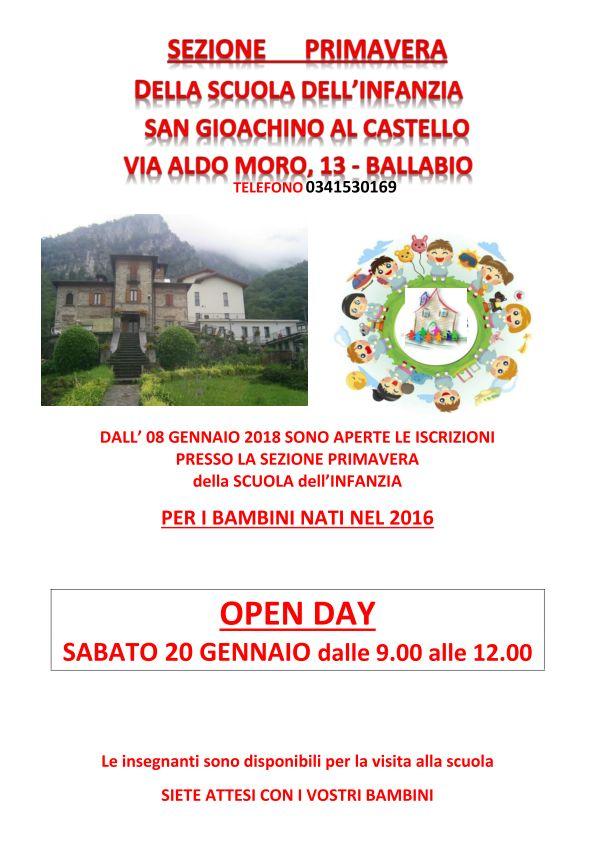 OPEN DAY PRIMAVERA CASTELLO CANOSSIANE_page_001