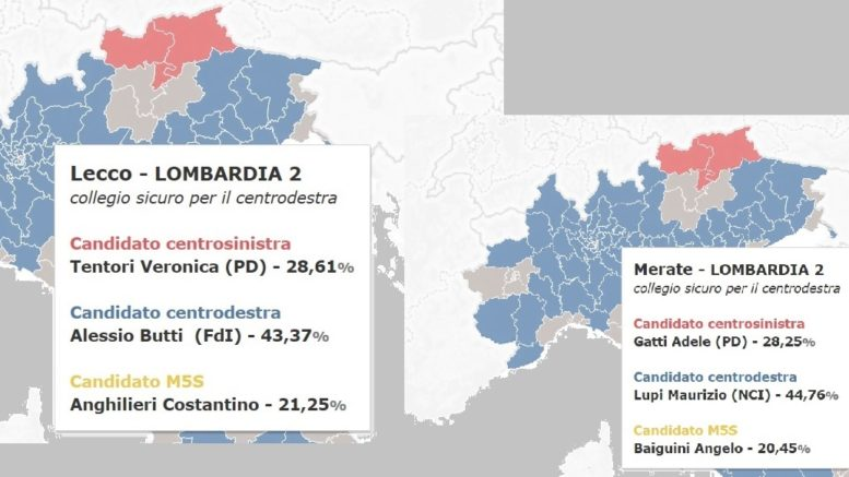 SONDAGGI CAMERA REPUBBLICA LECCO MERATE