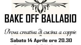 Logo Bake Off Ballabio 2018