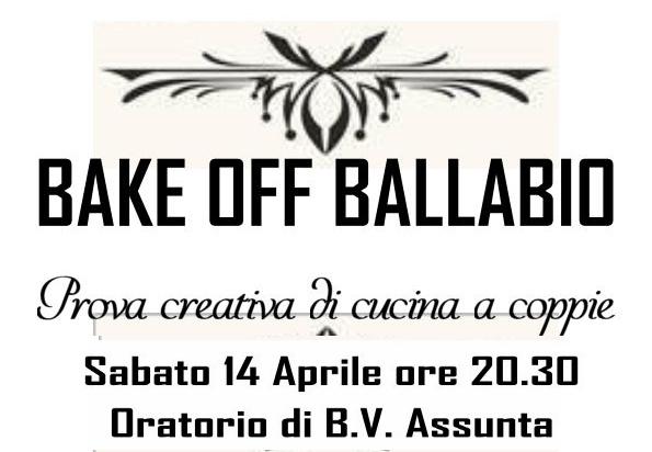 Logo Bake Off Ballabio 2018