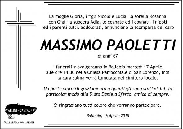 epigrafe Paoletti