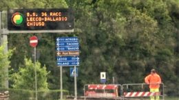 CHIUSURA LECCO BALLABIO DISPLAY CANCELLI