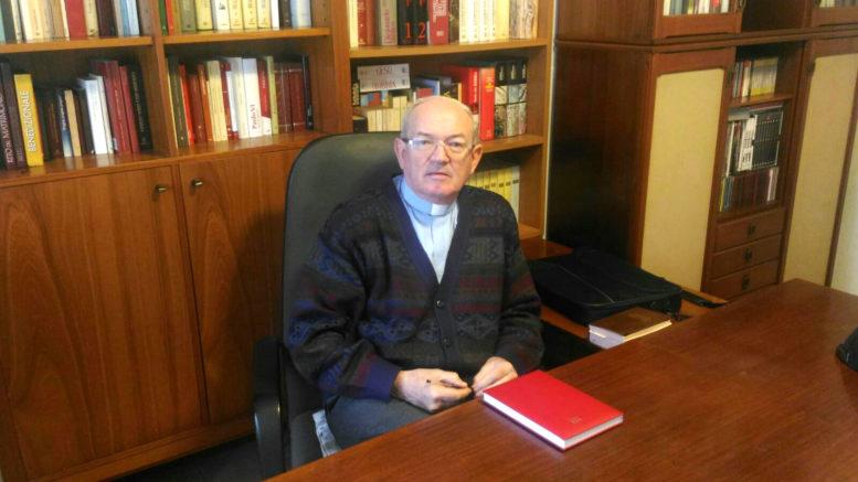 Don Benvenuto Riva parroco di Ballabio