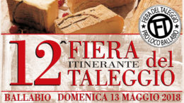 Logo 12 Fiera Taleggio 2018+