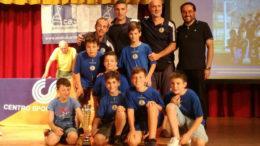 GSO Ballabio Under 12 - primo posto torneo autunnale