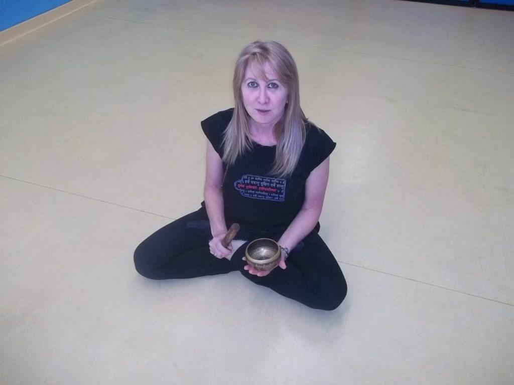 Patrizia Di Lauro insegnante di Yoga