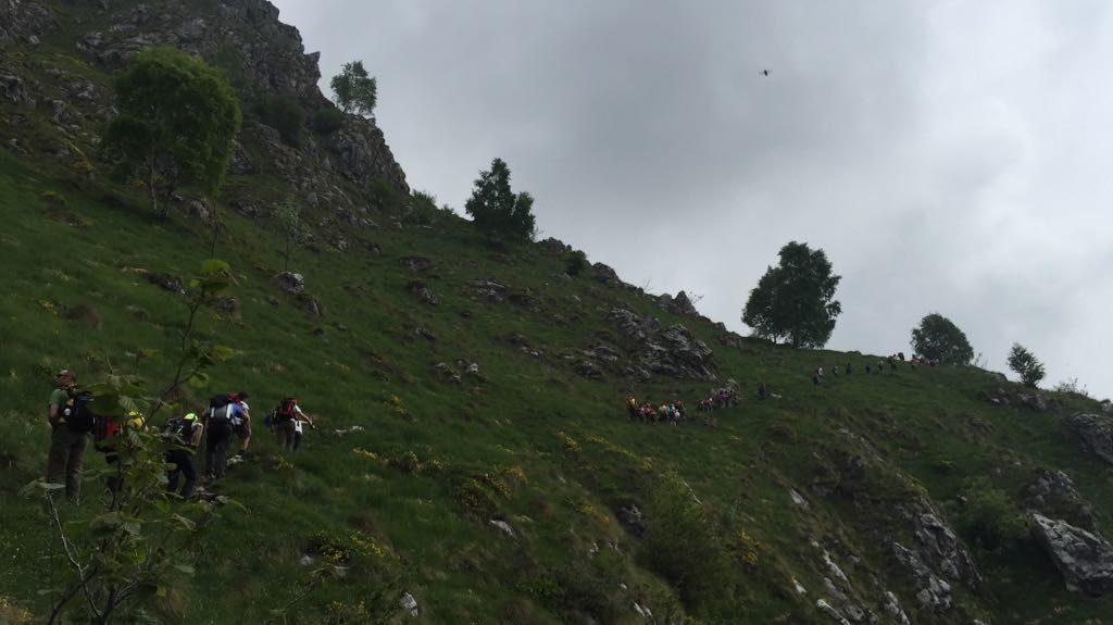 Ultima escursione alpinismo giovanile CAI Ballabio 2018 (10)