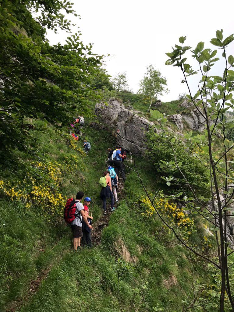Ultima escursione alpinismo giovanile CAI Ballabio 2018 (5)