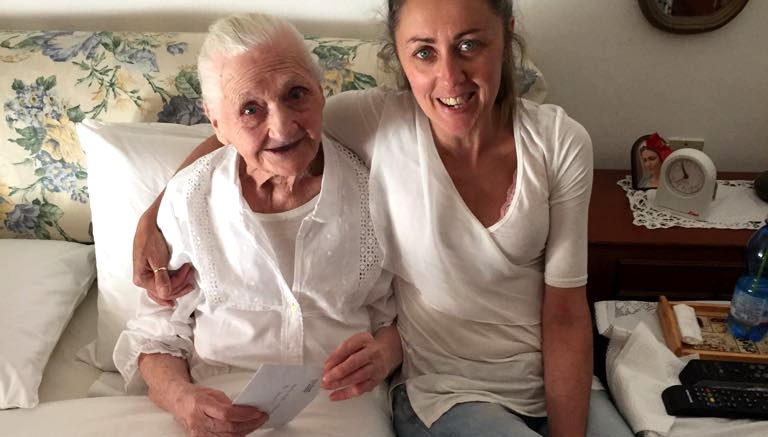 Dalmina Calatro 98 anni