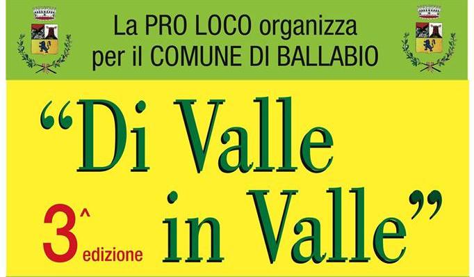 Di Valle in Valle 3 logo