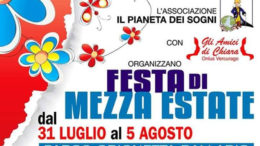 Logo Festa di Mezza estate 2018