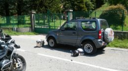 incidente moto provinciale ballabio 27lug18