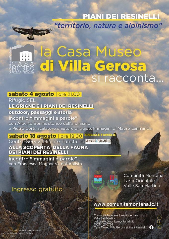Volantino Villa Gerosa si racconta
