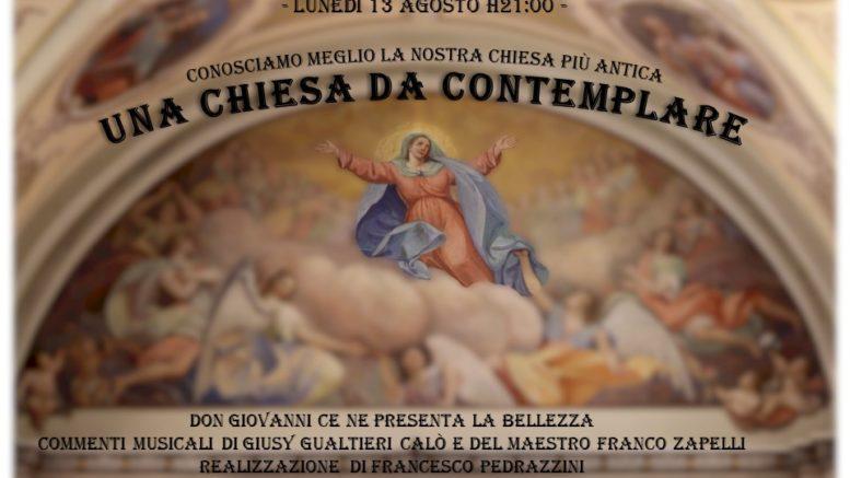 volantino 13-agosto - una chiesa da conemplare