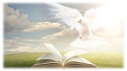 Bibbia aperta spirito santo