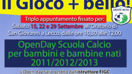 Logo Open Day LeccoAlta 2018