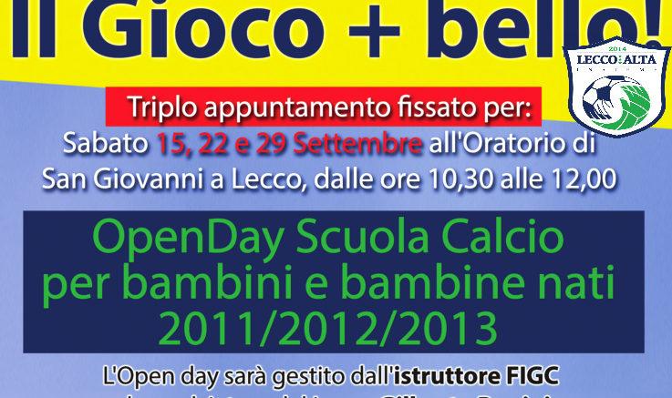 Logo Open Day LeccoAlta 2018