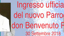 Logo ingresso don benvenuto Riva 2018