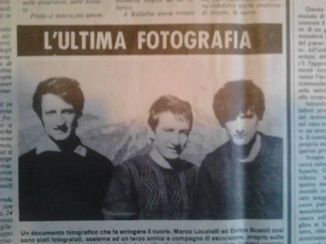 Ultima Fotografia Scaioli Locatelli Milani