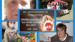 AIDO BALLABIO 20 ANNI