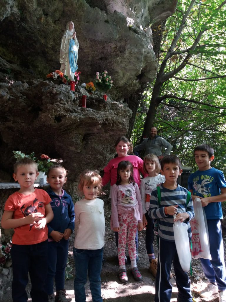 Raccolta castagne Gasch oratorio domenicale 14 ottobre 2018 (2)