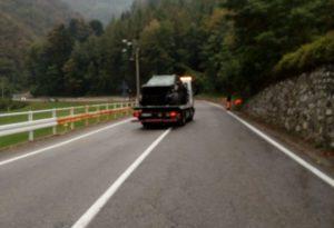 rimozione stradale soccorso bmw incidente curva angurie