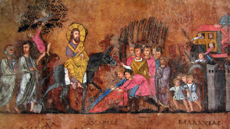 Ingresso Gesù a Gerusalemme