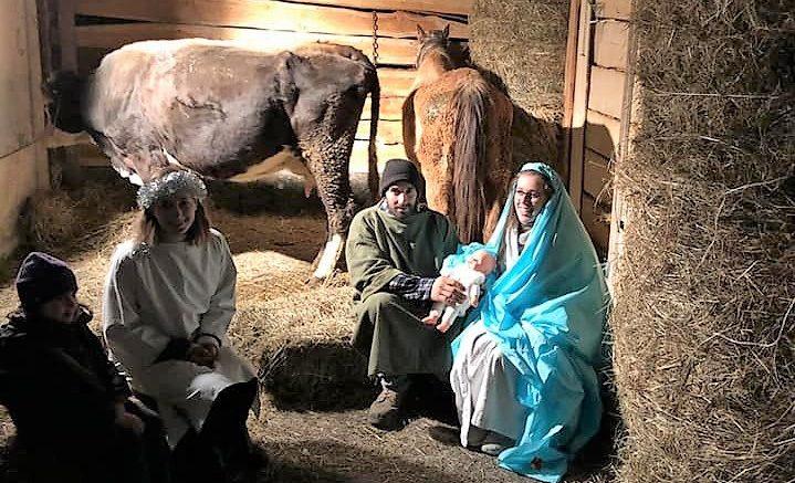 Presepe vivente e Natale a Morterone (1)