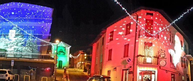 Le luminarie natalizie a Cremeno
