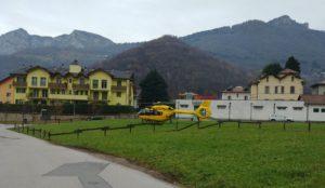 eicottero elisoccorso Ballabio (3)