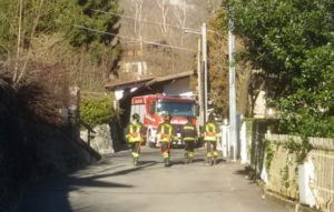 vigili del fuoco ballabio via roncaiolo principio incendio abitazione4