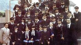 Banda Risveglio nel 1981 per i 50 anni