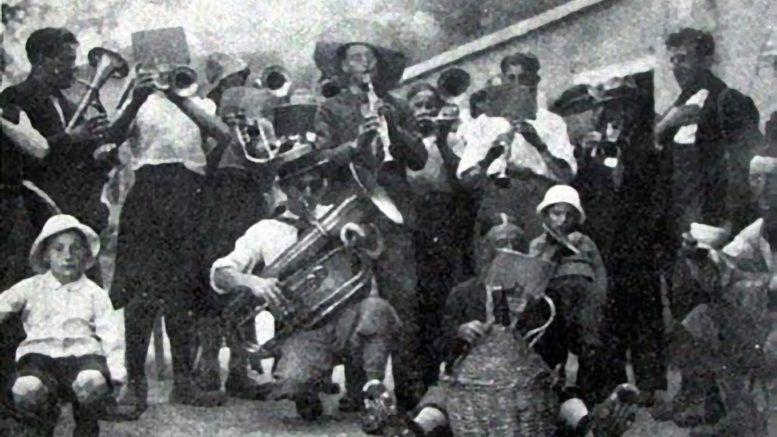 Banda Risveglio nel 1931_e
