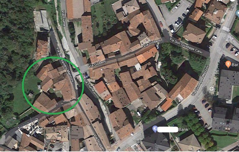 CA DEL BERTO MAPPA SATELLITE
