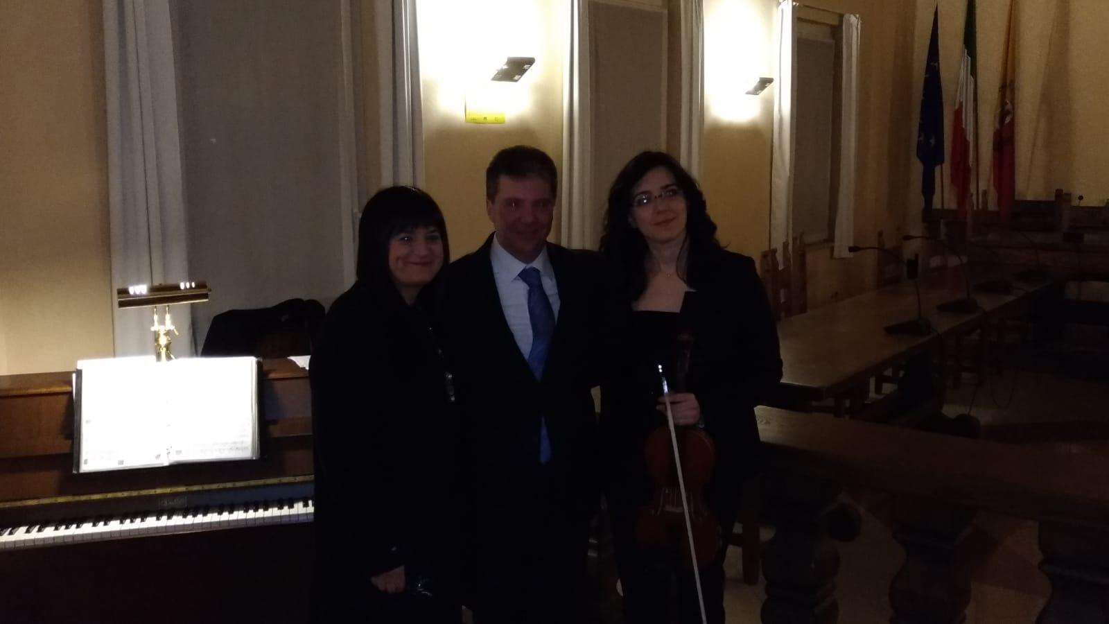 Il trio musicale Zapelli, Calò e Ballabio